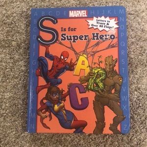 Book: S is for super hero.